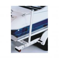 "Fulton Marine Grade PVC Trailer Boat Guide Pair 44"" Pole Post Guides Clamp On Best Side Guides Fits Pontoon Aluminum and other Boat Trailers"